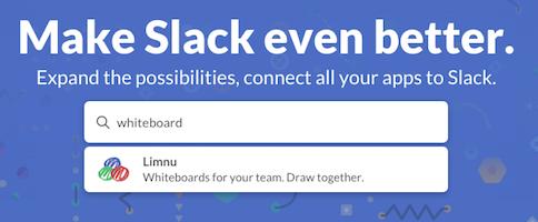 Slack Whiteboard