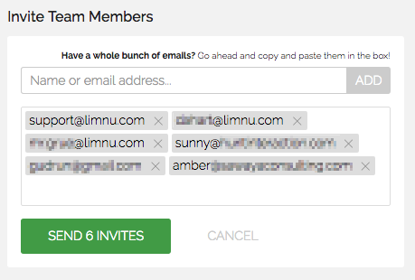Limnu finds the email addresses