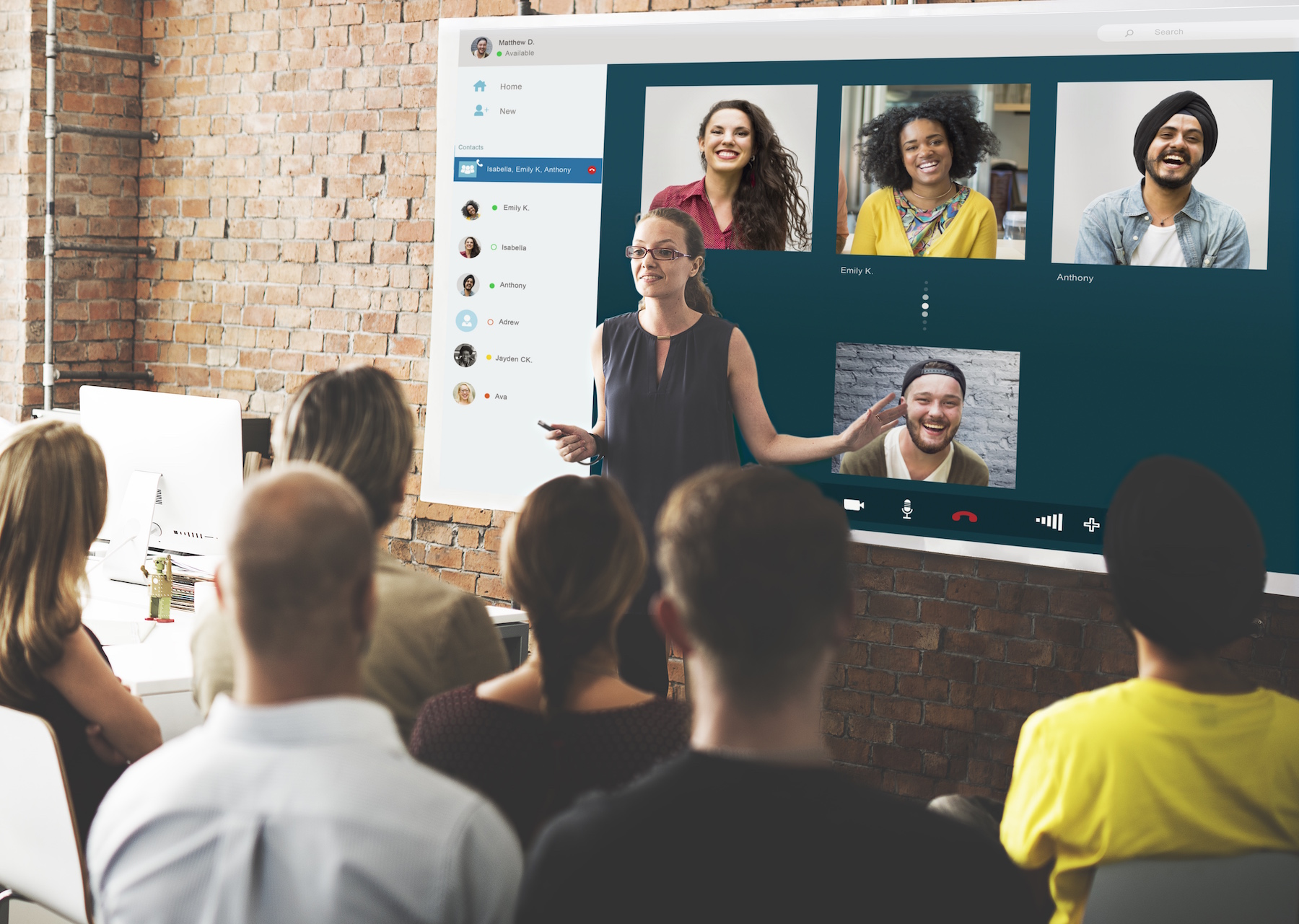 Company Video Chat